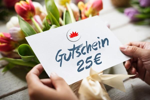 25€ Gutschein